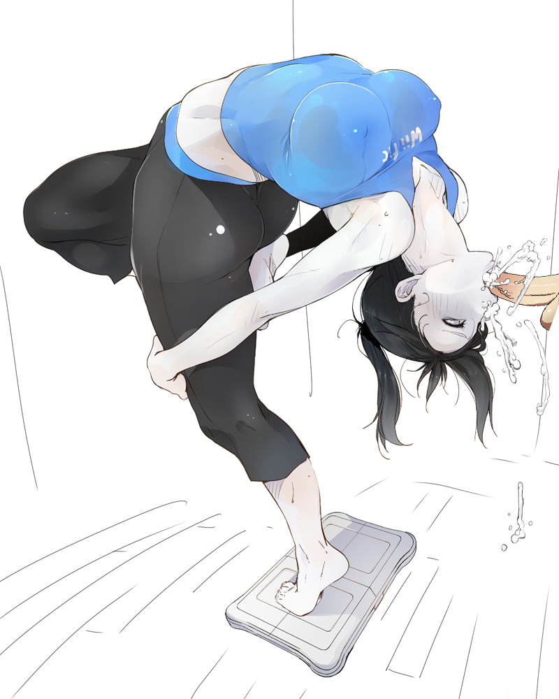 63 fit wii trainer rule Hands free bubble tea challenge