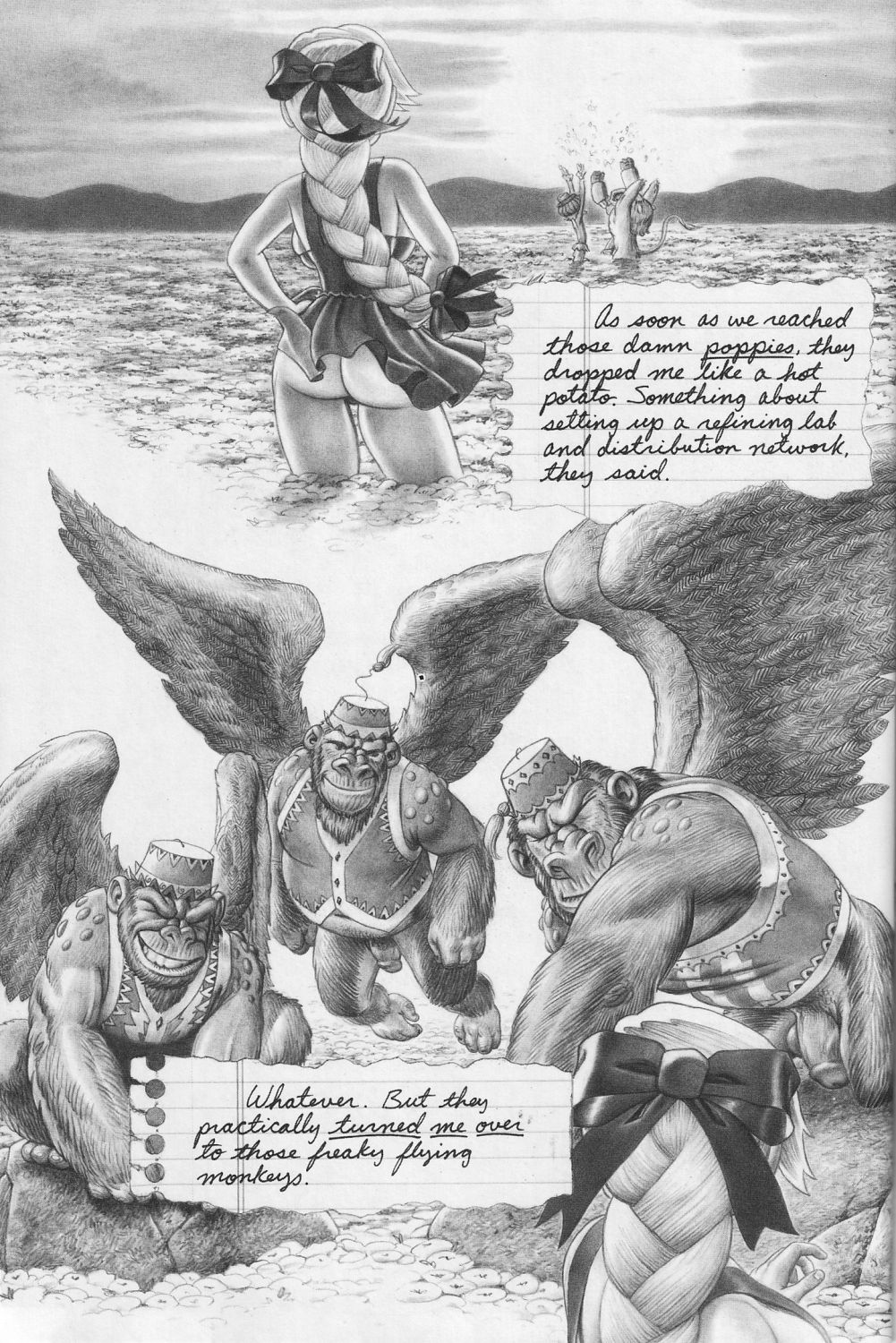 of wizard comics oz porn Pictures of thumper from bambi