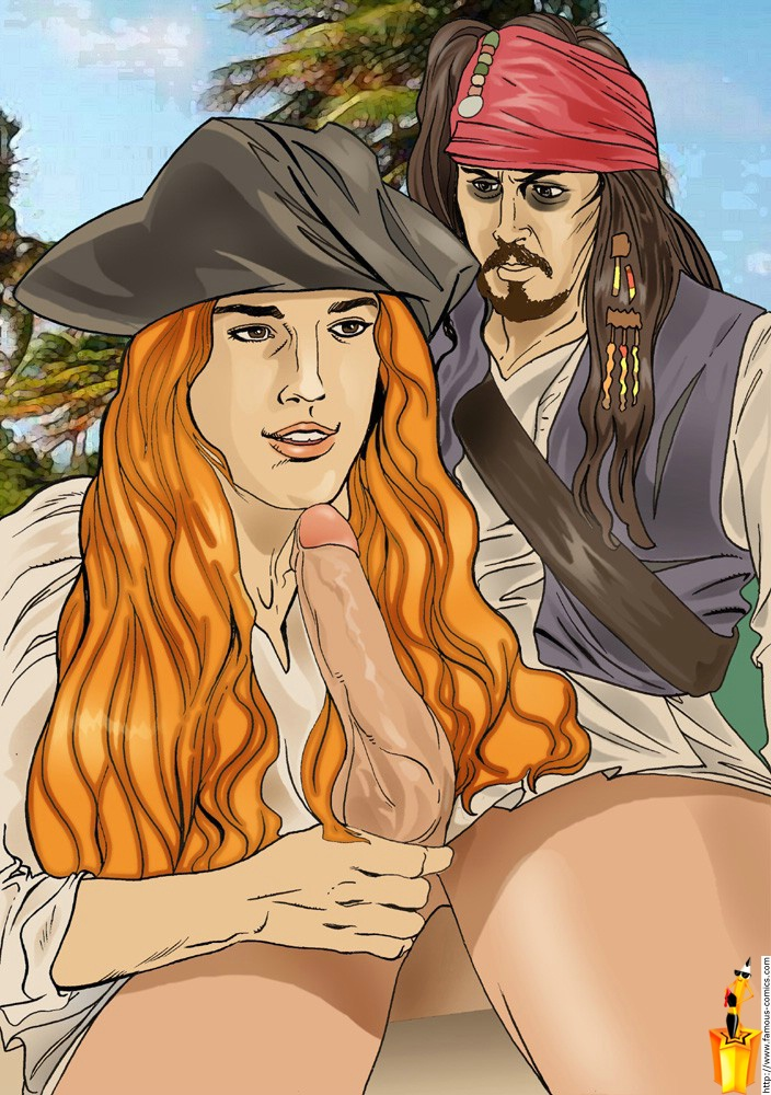 the of porn caribbean comic pirates Mage and the demon queen