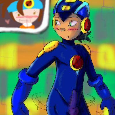 roll exe exe and megaman A hat in time nude mod