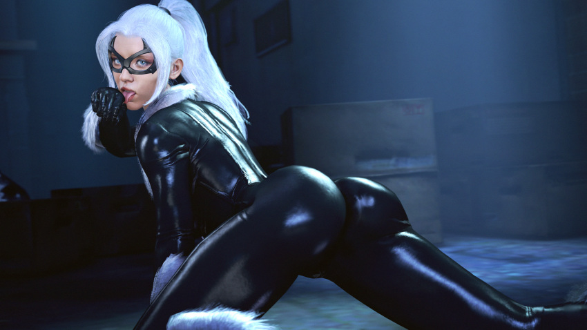 spider-man black cat ps4 Brandy and mr whiskers vore