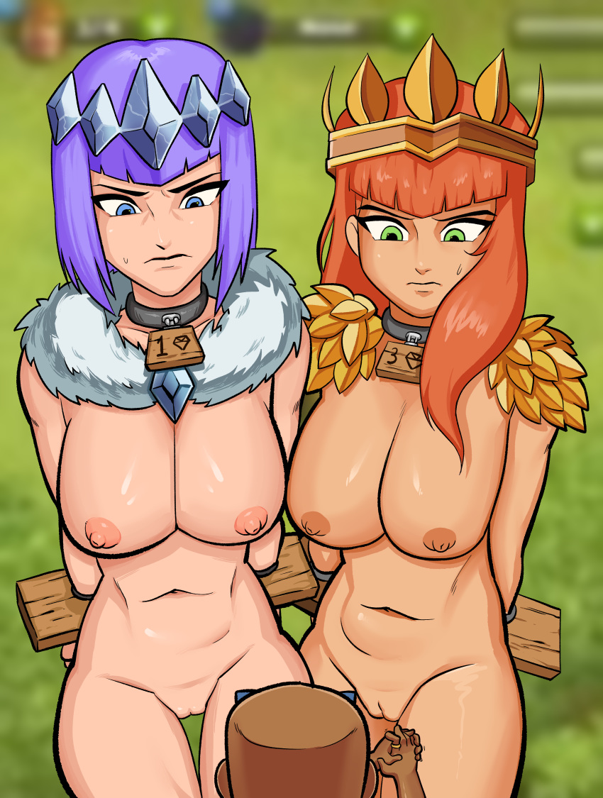 sex animated of clans clash The legend of krystal vg