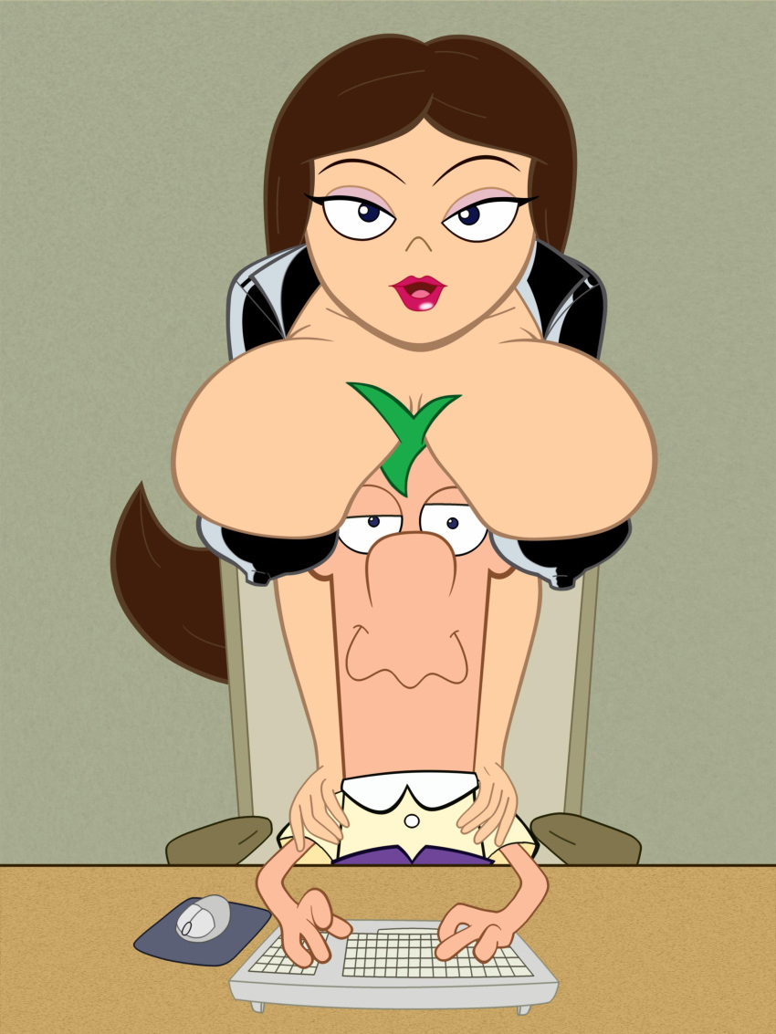 and vanessa ferb sex phineas Girl crying from big cock