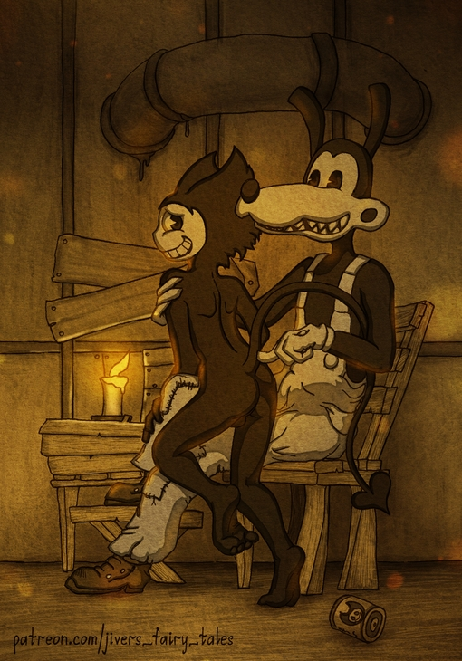 ink the machine and bendy xxx Negligee: love stories nudity