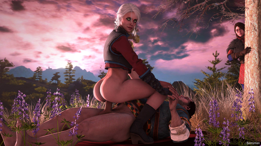 witcher 3 the ciri naked Little red riding hood